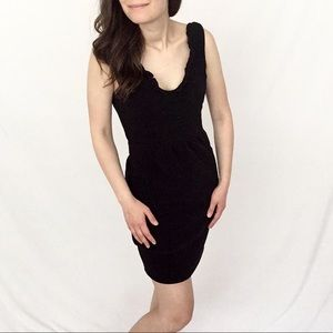 ✨NWT✨Anthropologie [Maeve] | Black V-Neck Dress